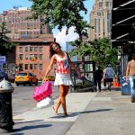 WHITE SKIRT IN NEW YORK – High Line – Meatpacking