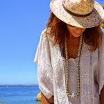 Boho dress at Algarve