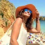 Lingerie dress at Algarve