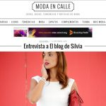 Entrevista a el blog de silvia en Moda en Calle