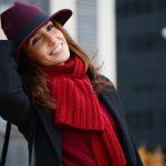 Burgundy hat & Hunter