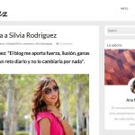 Entrevista a El blog de silvia en Amglez.com