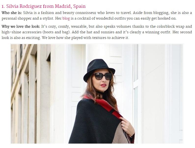 Noviembre 2014: Top Scarves Blogger