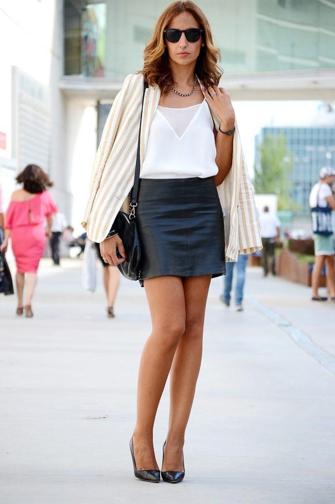 el blog de silvia: BLACK AND WHITE STRIPES PARA MBFWM14 - ÁNGEL SCHLESSER