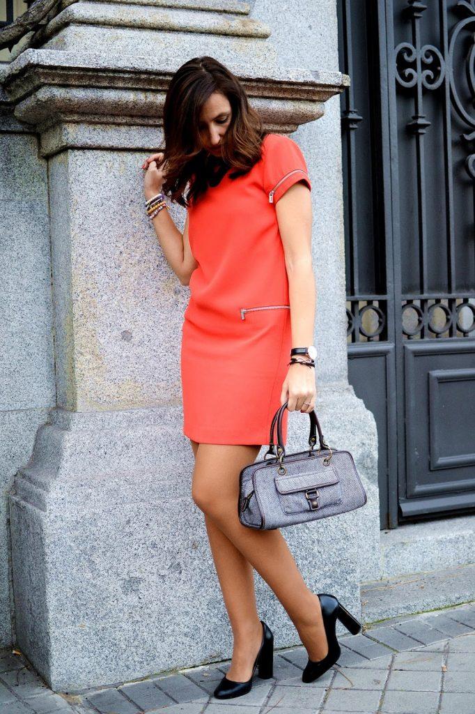 el blog de silvia - vestido coral Supertrash