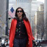 NYFW – Red coat
