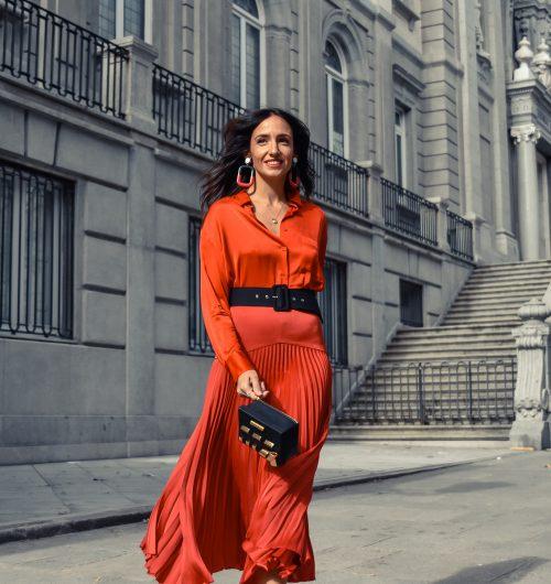 el-blog-de-silvia-total-look-rojo-falda-plisada
