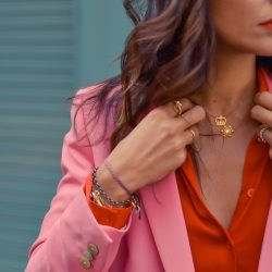 Street Style traje rosa