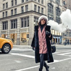 Look invernal en Nueva York