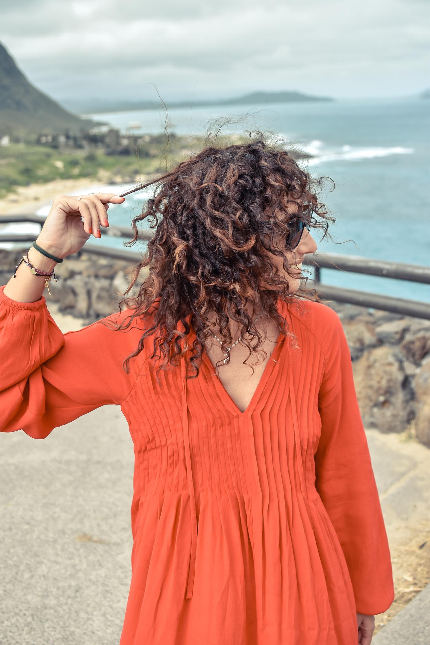 2-el-blog-de-silvia-viaje-hawaii-oahu-vestido-naranja