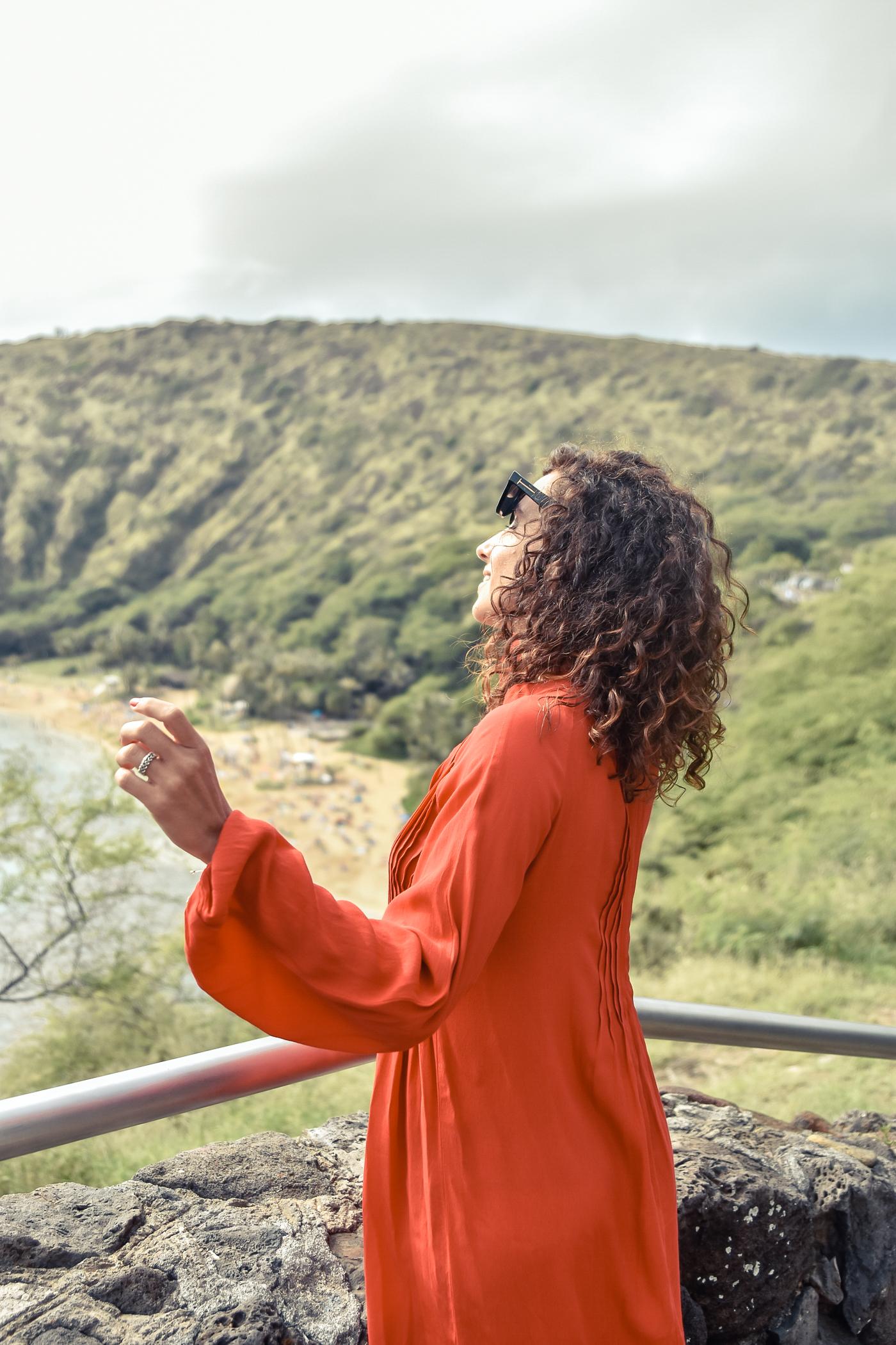 4-el-blog-de-silvia-viaje-hawaii-oahu-vestido-naranja