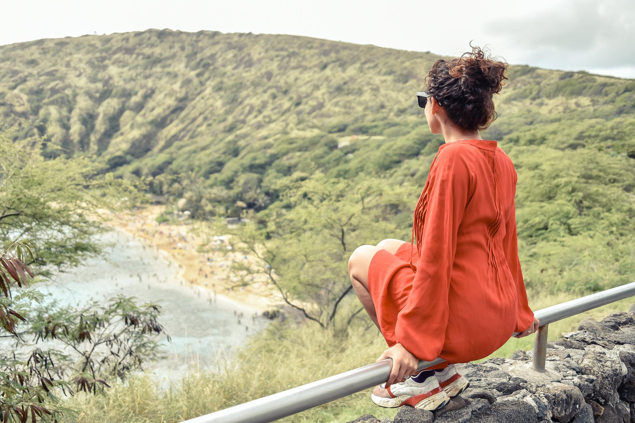 5-el-blog-de-silvia-viaje-hawaii-oahu-vestido-naranja