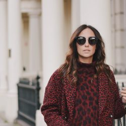 Look de invierno: animal print