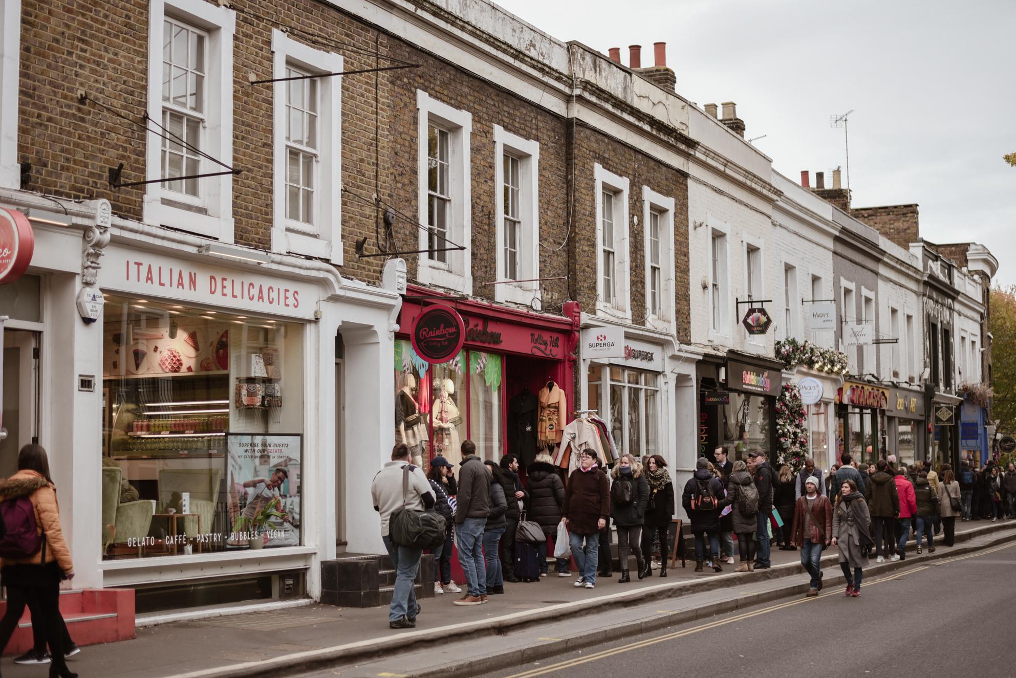Portobello Market en Notting Hill