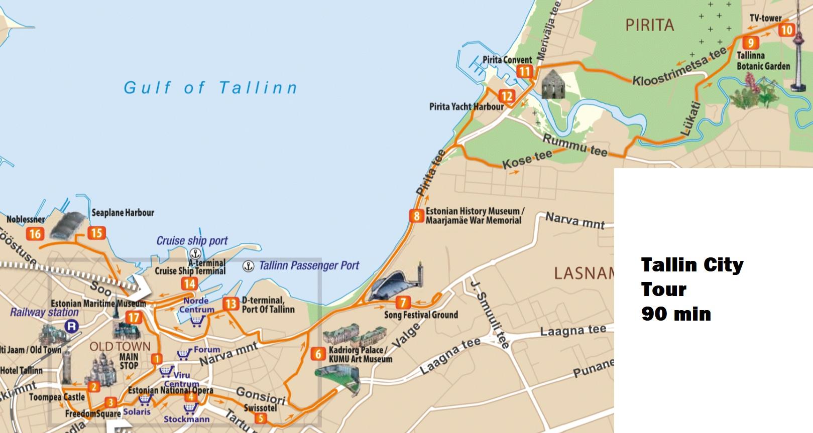 Tallin City Tour